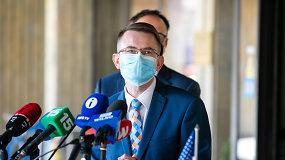 Sveikatos ministras A.Dulkys: vakcinavimo prioritetų jau nebeperžiūrėsime