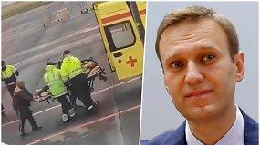 Rusijos opozicijos lyderis A.Navalnas atsidūrė komoje – įtariamas tyčinis apnuodijimas