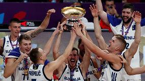 Slovėnija – Europos krepšinio čempionato nugalėtoja
