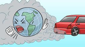 Koks turi būti automobilių taršos mokestis?
