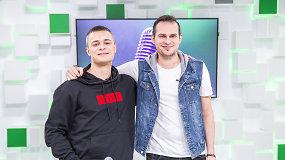Atlikėjas Soliaris su reperiu-akrobatu pristatė eurovizinę dainą