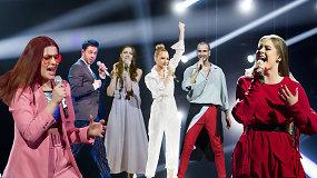 """""""Eurovizijos"""" finalininkai: """"Aš turiu važiuoti į Portugaliją, nes..."""""""