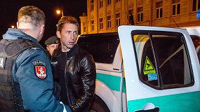 Policija sulaikė neblaivų Egidijų Dragūną prie vairo