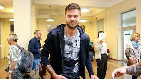 """Futbolininkas Lukas Spalvis: """"Kovosim dėl pergalės"""""""