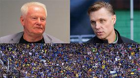 """""""Vieni vartai"""" su A.Liubinsku: emocinga kritika Lietuvos futbolui ir neregėtos palydos į pragarą"""