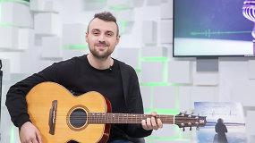 Atlikėjas Kazimieras Likša gyvai pristatė naują albumą, kurį dedikavo žmonai