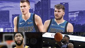 """""""Atsarginiai"""": sprogdinantys NBA mainai ir monstras, kurio laukia ir nori visi"""