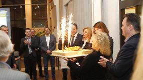 Valdemaras Tomaševskis švenčia – kol kas gimtadienį, o ne pergalę rinkimuose