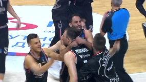 """Pamatykite: """"Ryto"""" paskutinių sekundžių prakeiksmas baigėsi – A.Parachouskis ištraukė nuostabią pergalę Belgrade"""