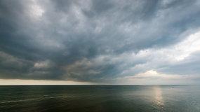 Žolinės rytas prie jūros Palangoje pasitiko ramybe
