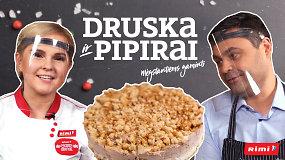 """""""Druska ir pipirai"""": paprastas, bet ne prastas meduolių ir bananų pyragas – gabalėlis palaimos"""