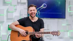 Lolitos Zero balsas Jurijus Veklenko gyvai pristatė savo eurovizinę dainą