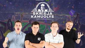 """""""Skrieja kamuolys"""": rinktinė, VAR ir futbolo taisyklės, """"Ajax"""", Zizou bei Thomaso Mullerio rankų mostai"""