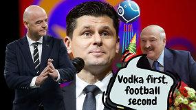 """""""Vieni vartai"""": FIFA nurodymai Lietuvai, sutarčių paradoksai ir Batkos filosofija"""