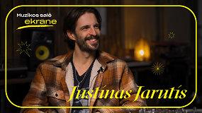 Justinas Jarutis apie Rugpjūtį, darbą su Jessica Shy ir areninį koncertą | Muzikos salė ekrane