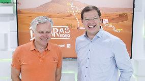 Kodėl Gintas Petrus po pertraukos grįžta į Dakaro ralį, o Tomas Jančys nusprendė jame debiutuoti?