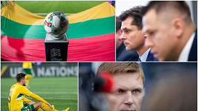 """""""Vieni vartai"""" su LFF vadovu: Tomo Danilevičiaus planas gelbėti Lietuvos futbolą ir raudona kortelė"""