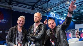 """15min interviu su Moldovos atstovais """"Eurovizijoje"""", linksmaisiais """"Sunstroke project"""""""