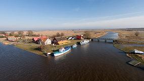 Žvejų kaimelis Nemuno deltos regioniniame parke – Mingė
