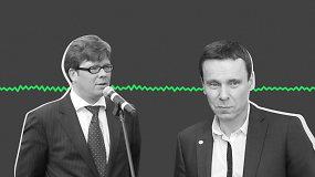 Išgirskite: slaptai įrašytas R.Kurlianskio ir N.Eidukevičiaus pokalbis