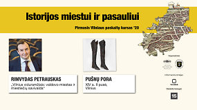Istorijos miestui ir pasauliui: pirmasis Vilniaus paskaitų kursas