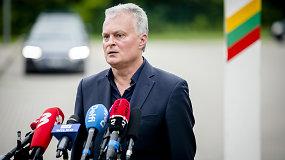 Prezidento G.Nausėdos komentarai po Herkaus stovyklavietės atidarymo Pabradėje