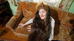 Įspūdingų plaukų savininkė iš Garliavos papasakojo, kaip prižiūri savo kasas