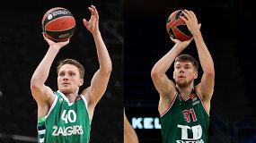 Tarp žvaigždžių: Eurolygos geriausių snaiperių reportaže – du lietuviai