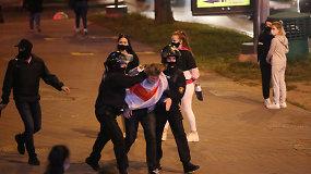 Po slaptos A.Lukašenkos inauguracijos – masiniai areštai gatvėse, sulaikyta per 100 protestuotojų