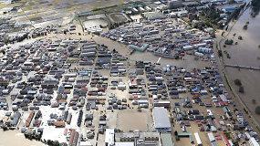 Japonijoje siautėjo galingas taifūnas – gamtos aukų skaičius padaugėjo iki 56