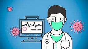 Kardiologai pataria: kaip elgtis, jei turite širdies ligų ir baiminatės koronaviruso?