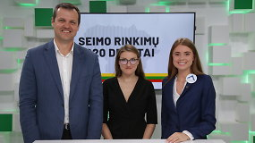 15min Seimo rinkimų debatai: G.Paluckas prieš I.Kačinskaitę-Urbonienę