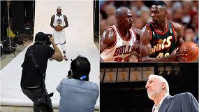 """""""Atsarginiai"""": lygą gąsdinantis sugrįžimas, į dugną nugarmėjusi """"Spurs"""" ir geriausių dėjikų topas"""