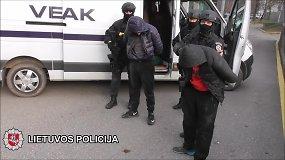 Vilniaus policijos kriminalistai sulaikė  tris jaunuolius, ketinusius apiplėšti kurjerį