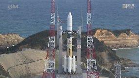Japonų raketa į kosmosą iškėlė Kanados palydovą
