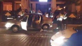 Skaitytojas užfiksavo įtemptas bėglio gaudynes ir sulaikymą Klaipėdoje