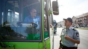 """Greitosios pagalbos automobilio nepraleidęs troleibuso vairuotojas: """"Vėluoju"""""""