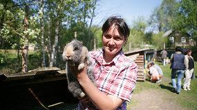 Triušiukų slėnio įkūrėja Renata Lamauskienė neigia mitus apie gyvūnus