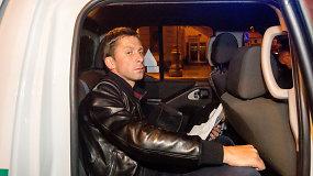 Egidijus Dragūnas Selas naktį sulaikytas girtas prie vairo