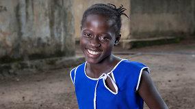 Salamatu Korsu išgyveno Ebolos viruso siaubą ir dėkoja UNICEF