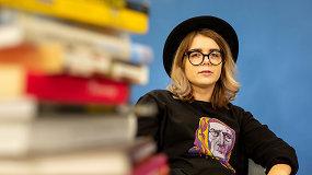 Jolita Vaitkutė – apie kūrybą, skaitymą ir įsimintiniausias knygas