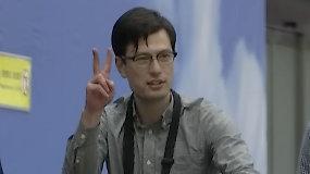 Šiaurės Korėjoje sulaikytas studentas paleistas