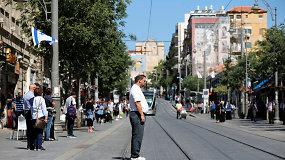 Holokausto atminimo dieną Izraelis sustingo dviems minutėms