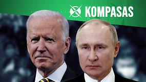 J.Bidenas pavadino V.Putiną žudiku: kaip keisis JAV ir Rusijos santykiai?
