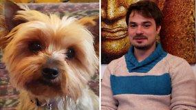 Žvaigždės augintinis: Leonardas Pobedonoscevas ir šuo Gabytė