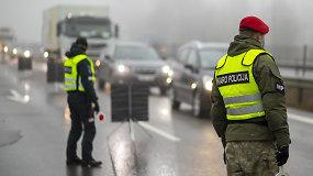 Griežtėja kelių kontrolė: už pažeidimus baus iškart, postai išdygs bet kur, policija patruliuos ir mieste