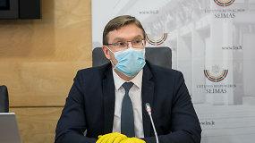 Iš Vyriausybės – socialinės apsaugos ir darbo ministras L.Kukuraitis