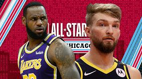 """""""Atsarginiai"""": """"All-Star"""" rungtynių trupiniai Domantui, NBA mainai ir nykštukinis Hjustonas"""