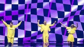 """Geltonoji banga suveikė. """"The Roop"""" """"Eurovizijos"""" finale!"""