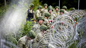 Pasienyje tiesiama nauja spygliuota tvora, dirba apie šimtas karių
